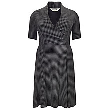 Buy Studio 8 Selina Check Dress, Grey/Black Online at johnlewis.com