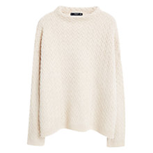 Buy Mango Herringbone Jumper Online at johnlewis.com