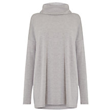 Buy Warehouse Relaxed Side Split Polo Tunic Online at johnlewis.com
