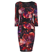Buy Coast Petite Harla Printed Dress, Multi Online at johnlewis.com