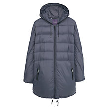 Buy Violeta by Mango Anorak, Charcoal Online at johnlewis.com