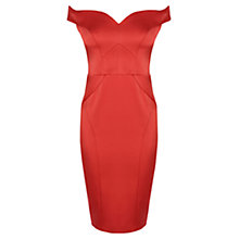 Buy Coast Petite Kimana Dress, Red Online at johnlewis.com
