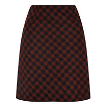 Buy Hobbs Cork Skirt, Amber Navy Online at johnlewis.com