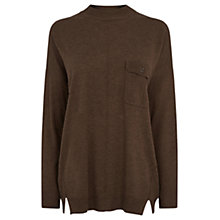 Buy Warehouse Pocket Front Jumper Online at johnlewis.com