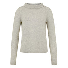 Buy Hobbs Audrey Jumper, Soft Grey Online at johnlewis.com