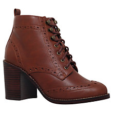 Buy Miss KG Seattle Brogue Detail Ankle Boots Online at johnlewis.com