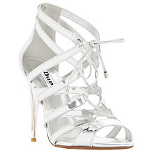 Buy Dune Mila Lace Up Stiletto Sandals Online at johnlewis.com