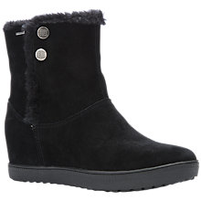 Buy Geox Amaranth Amphibiox® Internal Wedge Heeled Ankle Boots, Black Online at johnlewis.com