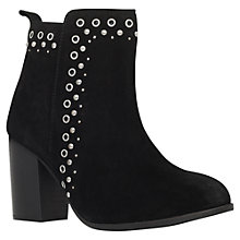 Buy Miss KG Storm High Heel Ankle Boots, Black Suede Online at johnlewis.com