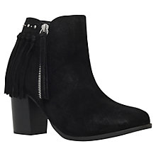 Buy Miss KG Shake Tassel Detail Block Heeled Ankle Boots Online at johnlewis.com