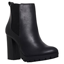Buy Miss KG Skyla Chelsea Block Heel Ankle Boots, Black Online at johnlewis.com