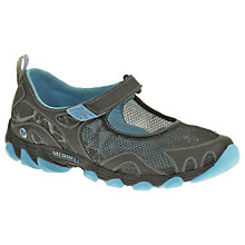 Buy Merrell Hurricane MJ Trainers, Black/Horizon Blue Online at johnlewis.com