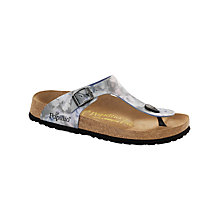 Buy Birkenstock Gizeh Pearl Sandals Online at johnlewis.com