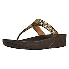 Buy FitFlop Aztek Chada Toe Post Sandals Online at johnlewis.com