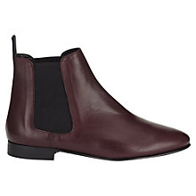 Buy Jigsaw Hannah Flat Heeled Chelsea Boots Online at johnlewis.com