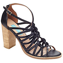 Buy Collection WEEKEND by John Lewis Issoire Block Heeled Sandals, Black Online at johnlewis.com