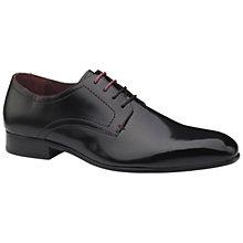 Buy Ted Baker Billay 3 Derby Shoes, Black Online at johnlewis.com