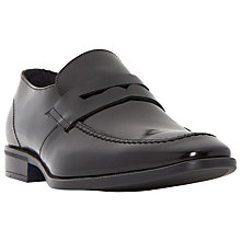 Buy Dune Racecar Leather Penny Loafers Online at johnlewis.com