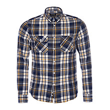 Buy Barbour Harrison Check Shirt, Ride to the Sun Yellow Online at johnlewis.com