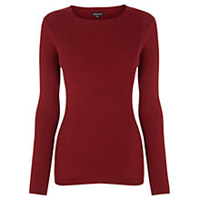 Buy Warehouse Fashioned Ribbed Crew Jumper Online at johnlewis.com