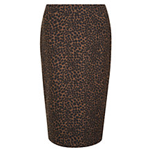 Buy Hobbs Blair Skirt, Black Multi Online at johnlewis.com