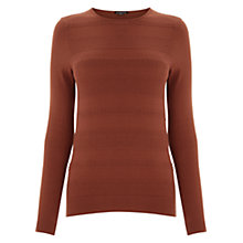 Buy Warehouse Stitch Texture Crew Jumper Online at johnlewis.com