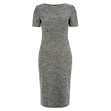 Buy Hobbs Juliane Dress, Grey/Black Online at johnlewis.com