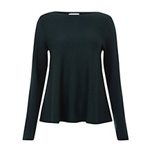 Buy Hobbs Kirsty Wool Blend Jumper, Celtic Green Online at johnlewis.com