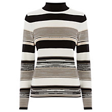 Buy Warehouse Space Dye Stripe Jumper, Multi Online at johnlewis.com