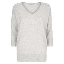 Buy Hobbs Darcy Jumper, Soft Grey Online at johnlewis.com