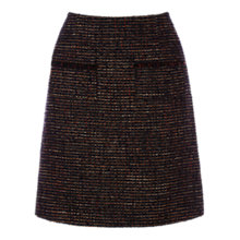 Buy Warehouse Tweed Pocket Detail Skirt, Multi Online at johnlewis.com