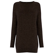 Buy Warehouse Sparkle Batwing Tunic Jumper Online at johnlewis.com