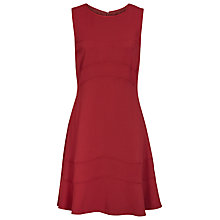 Buy Reiss Day to Eve Dress, Crimson Online at johnlewis.com