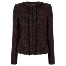 Buy Warehouse Tweed Pocket Detail Jacket, Multi Online at johnlewis.com