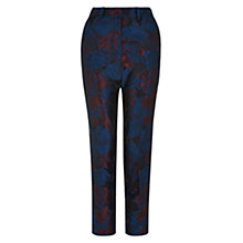 Buy Hobbs Efa Trousers, Sapphire Multi Online at johnlewis.com