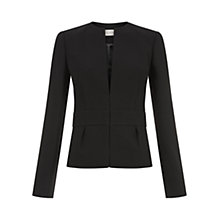 Buy Hobbs Bowen Wool Jacket, Black Online at johnlewis.com