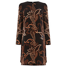 Buy Warehouse Paisley Shift Dress, Multi Online at johnlewis.com
