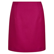 Buy Hobbs Glenda Wool Skirt, Hot Pink Online at johnlewis.com