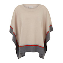 Buy Hobbs Clara Poncho, Neutral Multi Online at johnlewis.com