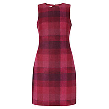 Buy Hobbs Alis Wool Dress, Pink Multi Online at johnlewis.com