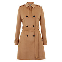 Buy Hobbs Dahlia Wool Trench Coat Online at johnlewis.com