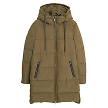 Buy Mango Quilted Long Coat Online at johnlewis.com