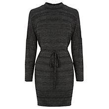 Buy Oasis Marl Sweater Dress, Dark Grey Online at johnlewis.com