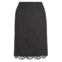 Buy Hobbs Constantine Skirt, Black Online at johnlewis.com
