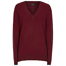 Buy Reiss Cashmere Bekah V Neck Jumper Online at johnlewis.com