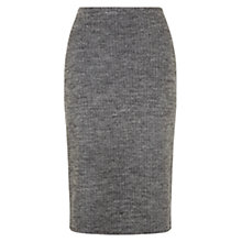 Buy Hobbs Juliane Skirt, Grey/Black Online at johnlewis.com