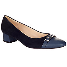 Buy Peter Kaiser Arla Block Heeled Pumps Online at johnlewis.com