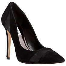 Buy Dune Bardot Mesh Detail High Heel Court Shoes Online at johnlewis.com