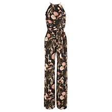 Buy Warehouse Gypsy Floral Jumpsuit, Multi Online at johnlewis.com
