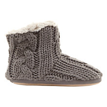 Buy Hygge by Mint Velvet Slipper Boots, Grey Online at johnlewis.com